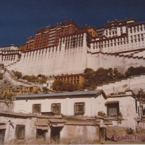 Potala Palace, Tibet, as it looked in 1987.
